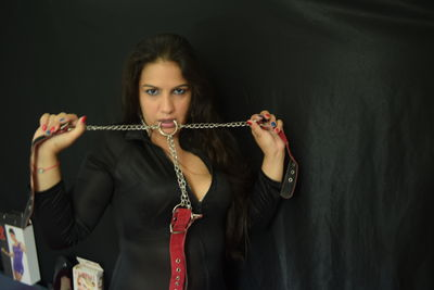 A Hypnotic Leather - Escort Girl from New Haven Connecticut