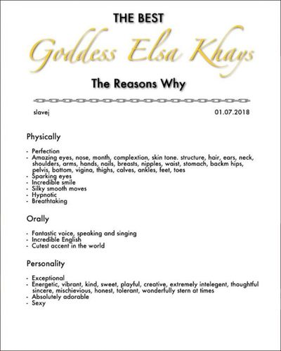 Elsa Khays - Escort Girl from Norfolk Virginia